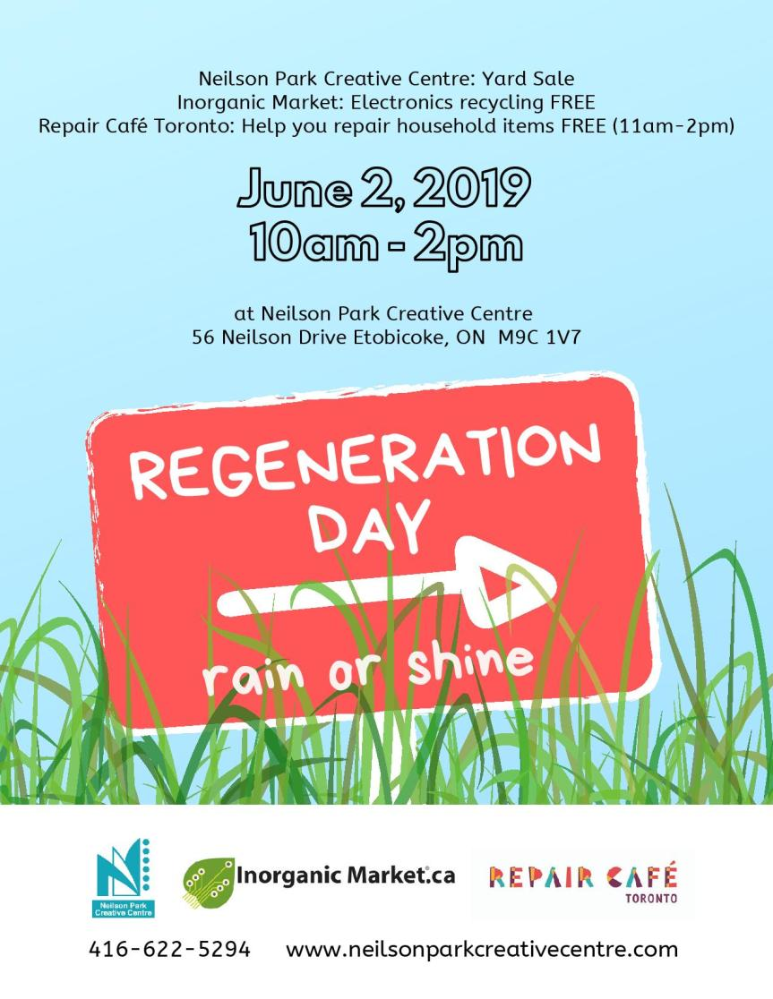 REGENERATION DAY FLYER 4 SM